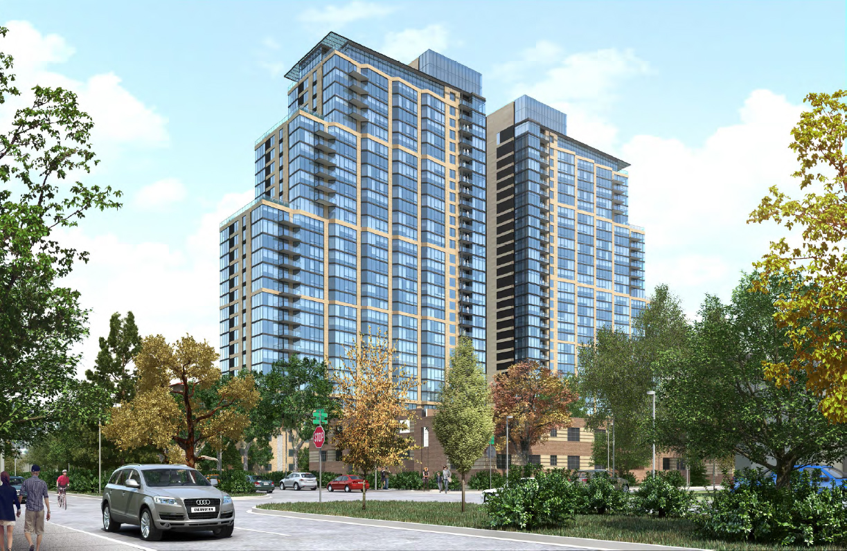 Two Massive 30 Story Apartment Houses To Dominate Country Club Area